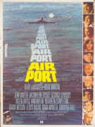 Vintage British movie poster - Airplane 1970